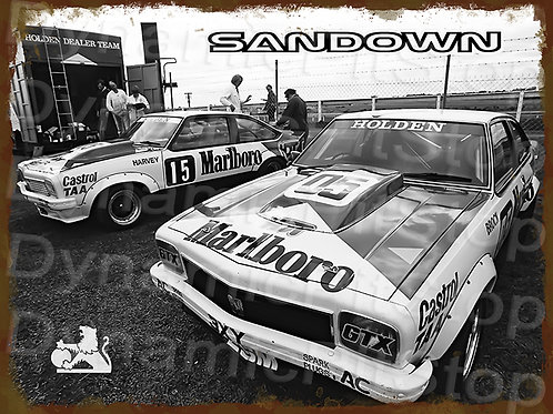 40x30cm Holden Sandown Rustic Decal or Tin Sign