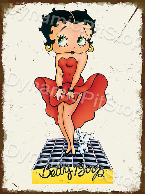 30x40cm Betty Boop Marilyn Monroe Rustic Decal or Tin Sign