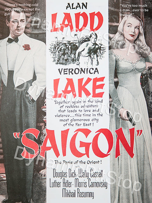 30x40cm Saigon Movie Decal or Tin Sign