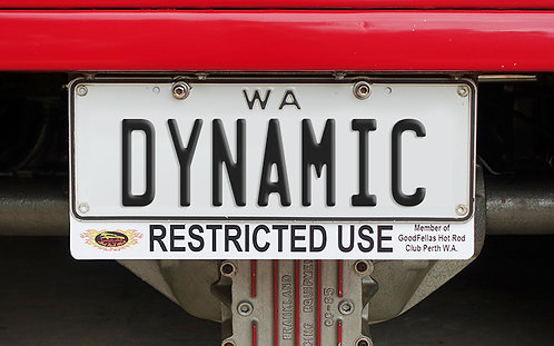 Integrated C4C Plate - Car Clubs