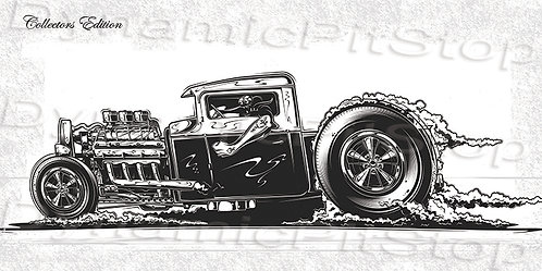 60x30cm Hot Rod Collectors Edition #3 Decal or Tin Sign