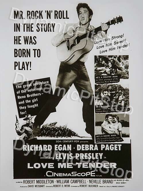 30x40cm Elvis Rock n Roll Decal or Tin Sign
