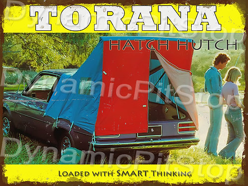 40x30cm Holden LH Torana Hutch Rustic Decal or Tin Sign
