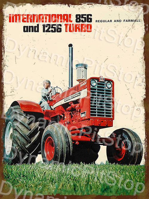 30x40cm International 856 Tractor Rustic Decal or Tin Sign