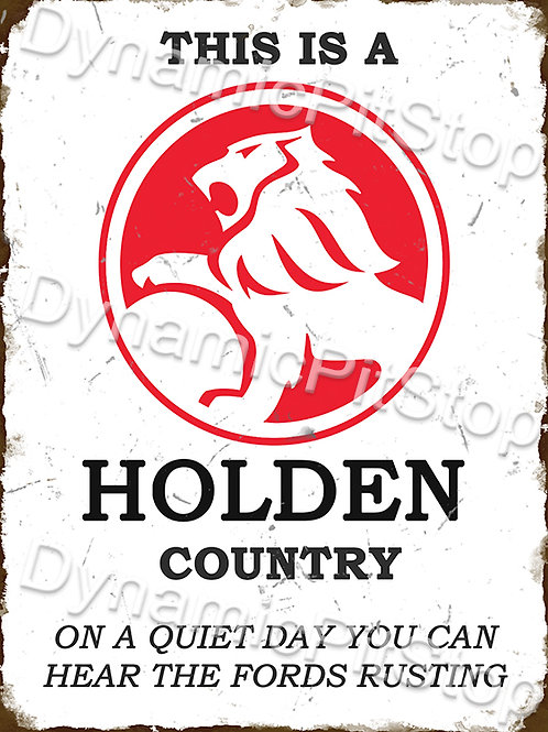 30x40cm Holden Country Funny Rustic Decal or Tin Sign