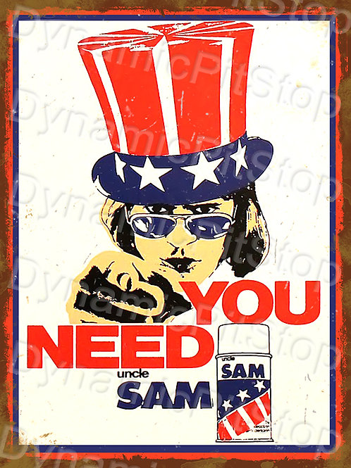 30x40cm Uncle Sam Rustic Decal or Tin Sign