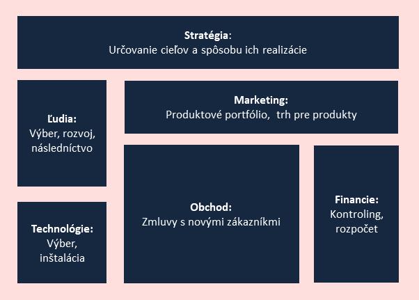 Firemné funkcie pre rozvoj - stratégia