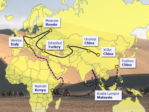 One Belt- One Road- New Trade Routes
