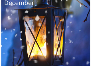 "Cool off from summer with a story of winter: Read Part I of ""Lighting a Dark December."""