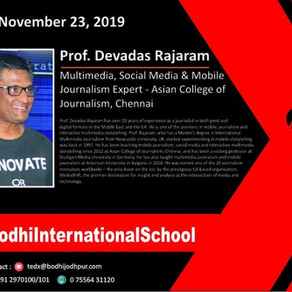 "TEDxTalk ""Radical Thoughts"" - with Prof Devadas Rajaram"