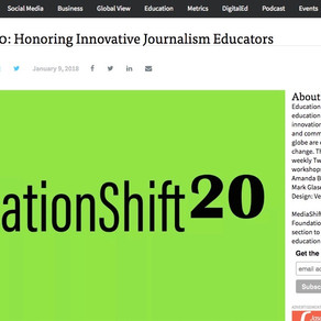 Devadas Rajaram honoured as one of the world's top 20 innovators in journalism education