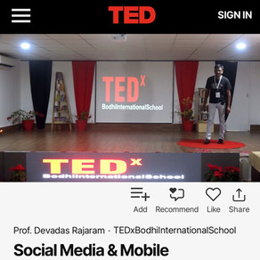 Explained in a TEDx: Why digital & social media literacy is key for our societies!