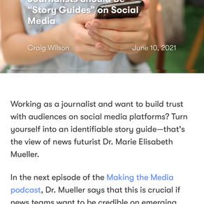 """Making the Media"". Talking Innovation in News Storytelling and Social Media"