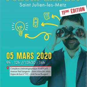 🗓️ 05/03/20 - FORUM DE L'EMPLOI SAINT-JULIEN-LES-METZ