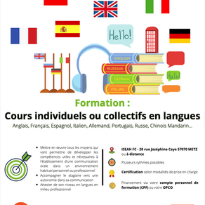 Formation : Langues