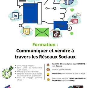 Formation : Communiquer et vendre à travers les réseaux sociaux