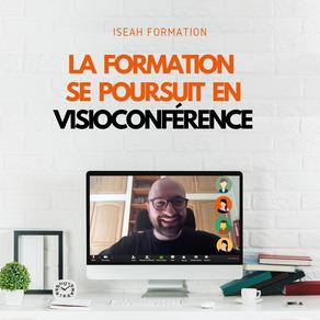 ❗️ LA FORMATION SE POURSUIT EN VISIOCONFÉRENCE