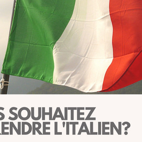 Italien débutant - Certification BRIGHTLANGUAGE