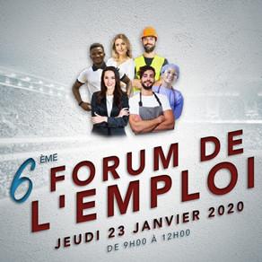 🗓️23/01/20 - 6ÈME FORUM DE L'EMPLOI - FC METZ