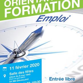 🗓️ 11/02/20 - FORUM DE L'ORIENTATION ET DE LA FORMATION - DIEULOUARD