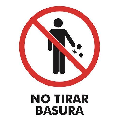 No Tirar Basura
