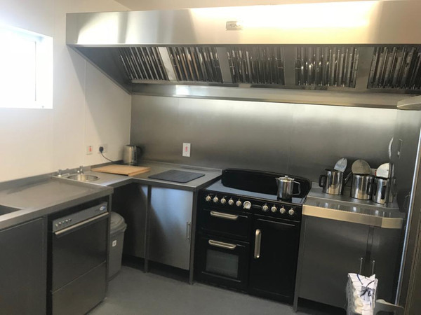 Kitchen and canopy fitting