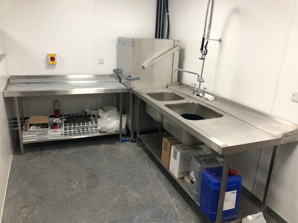 Kitchen sink and Dishwasher unit .JPG