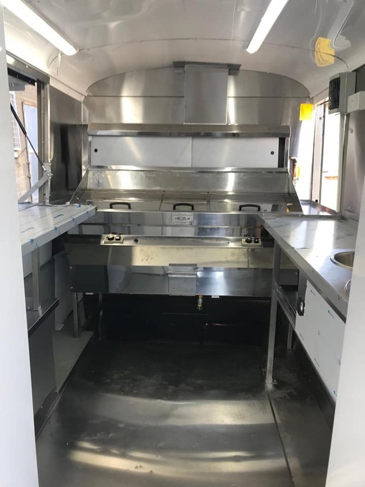 Regal frying range and van fit out