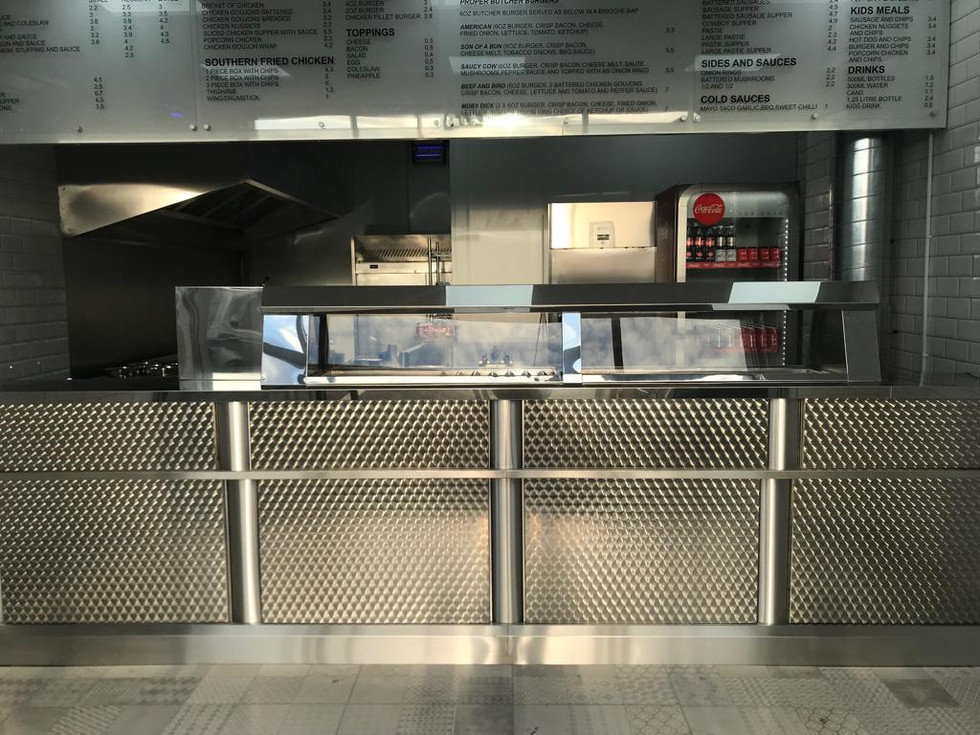Regal shop frying range