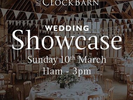 Clockbarn Wedding showcase