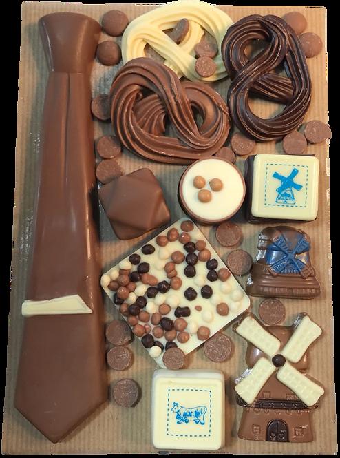 Chocolade stropdas