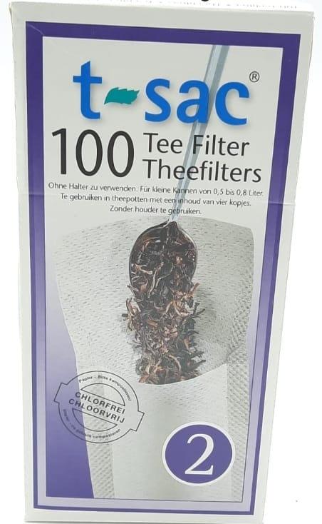 Filterzakjes  nr 2, middel