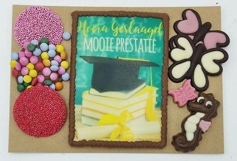 ansichtkaart Mooie Prestatie!