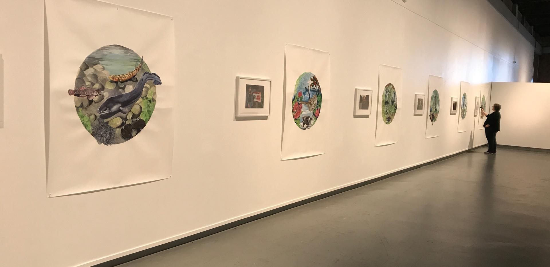 In the Round exhibition