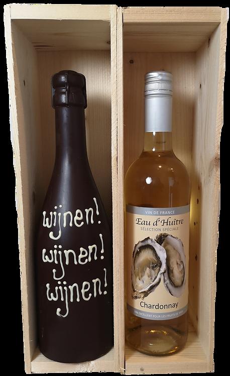 Chocolade-wijn duo wit