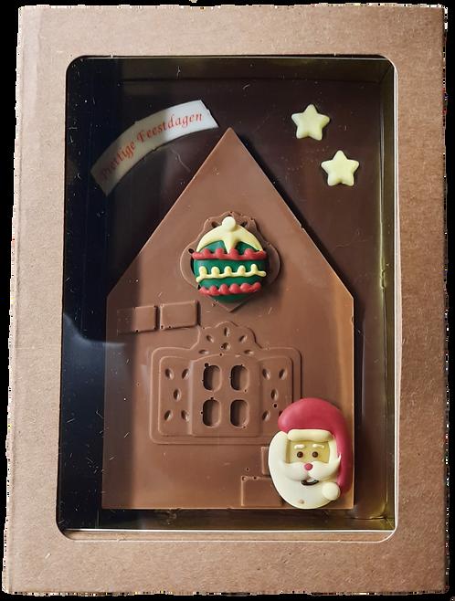 Kersthuisje in doos