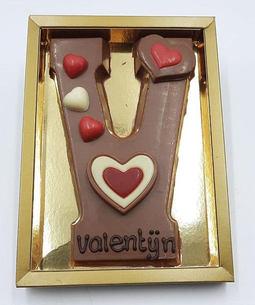 De V van.... juist, Valentijn!