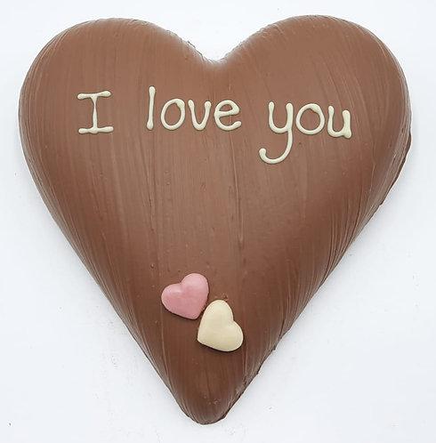 "Chocolade hart ""I love You"""