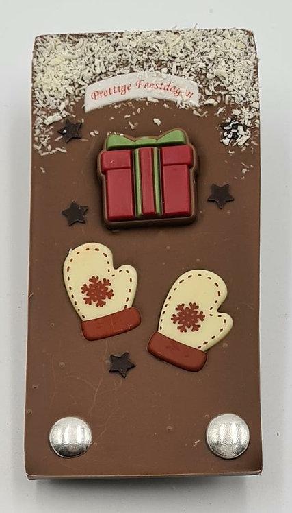Kerst reep chocolade