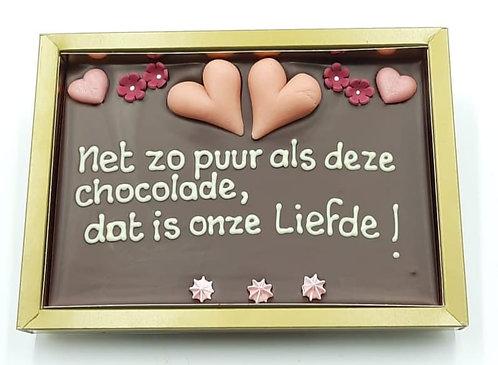 Chocola in een doosje.. zo puur