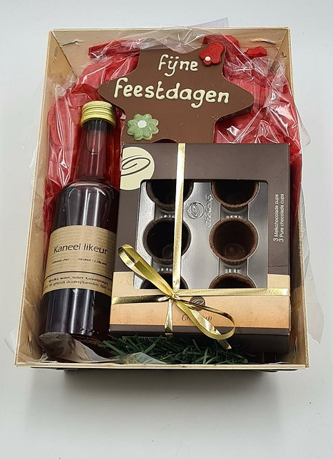 Cholicup pakket met kerstster