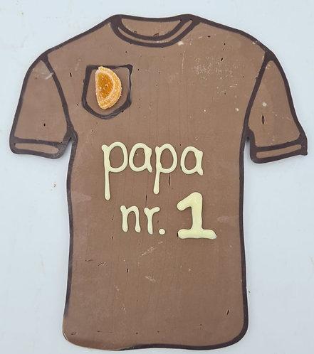 Shirt met Papa nr 1