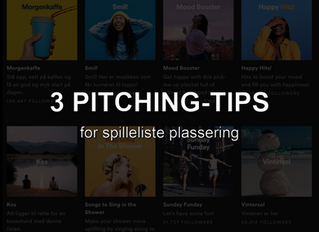 3 pitching-tips for spilleliste plassering