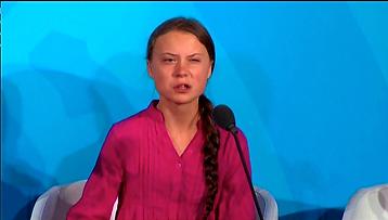 'How dare you!' Thunberg blasts U.N. cli