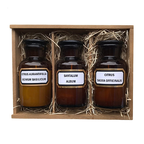 #13 Gift Box - Apothecary Candle Trio Set 40hr