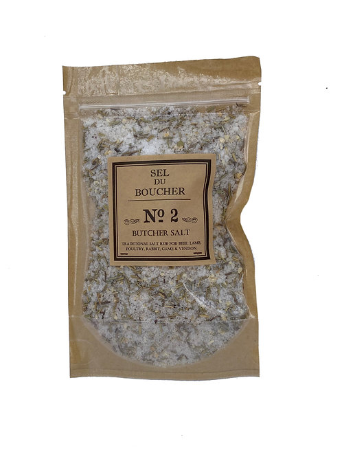 Gourmet Food Salts Satchel - No2 Butcher