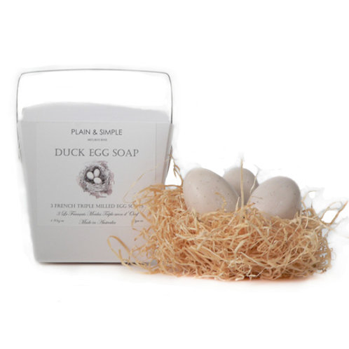 Duck Egg Soap - 3 in box