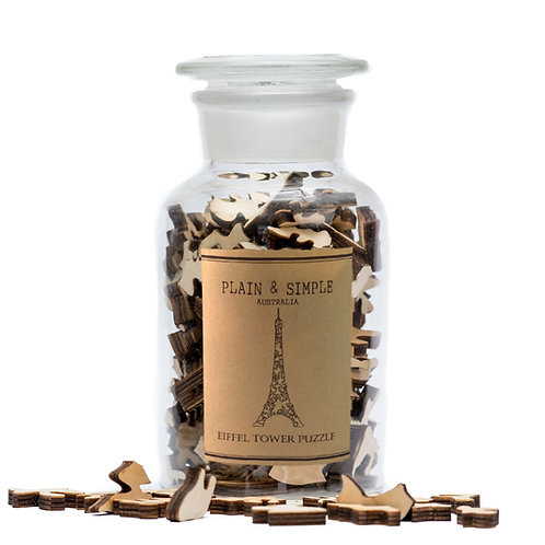 Eiffel Tower - Wooden Jigsaw Puzzle
