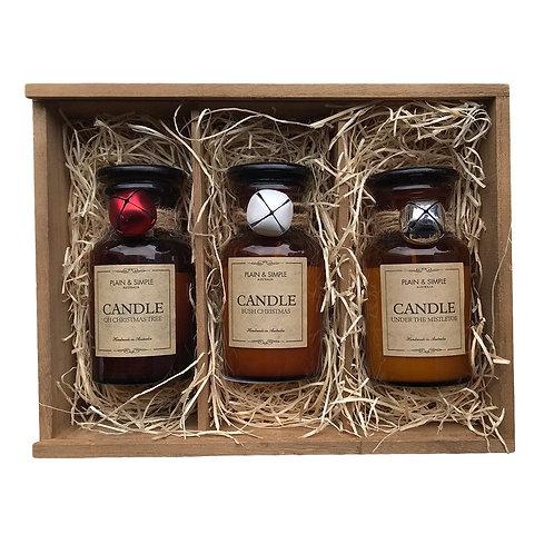 #16 Gift Box - Christmas Candles (Bells)