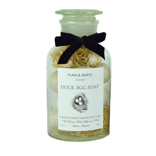 Duck Egg Soap - 9 in Jar